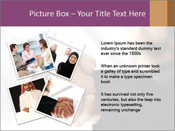 Business people over a deal PowerPoint Template - Slide 23