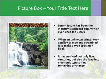 Water fall PowerPoint Template - Slide 13
