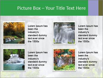 Water fall PowerPoint Template - Slide 14