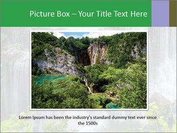 Water fall PowerPoint Template - Slide 15