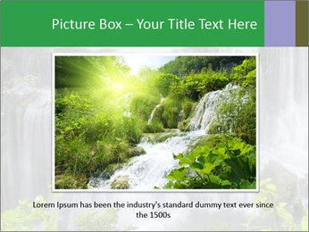 Water fall PowerPoint Template - Slide 16