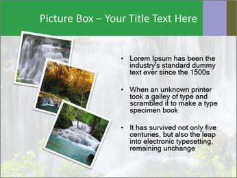Water fall PowerPoint Template - Slide 17