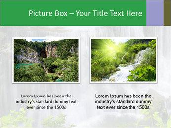 Water fall PowerPoint Template - Slide 18