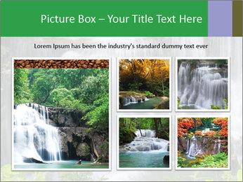 Water fall PowerPoint Template - Slide 19