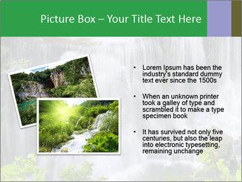 Water fall PowerPoint Template - Slide 20