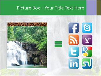 Water fall PowerPoint Template - Slide 21