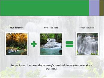 Water fall PowerPoint Template - Slide 22