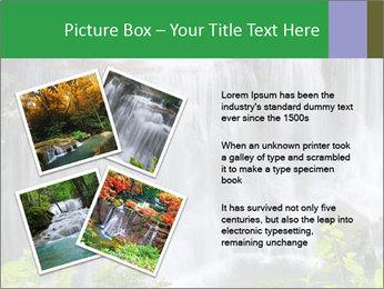Water fall PowerPoint Template - Slide 23