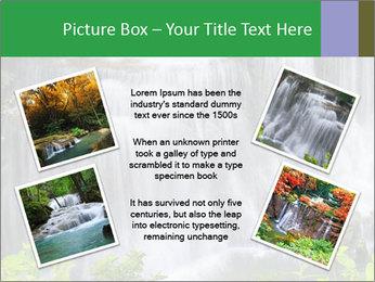 Water fall PowerPoint Template - Slide 24