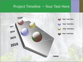 Water fall PowerPoint Template - Slide 26