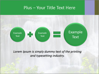 Water fall PowerPoint Template - Slide 75