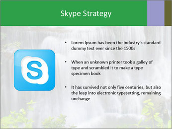 Water fall PowerPoint Template - Slide 8
