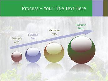 Water fall PowerPoint Template - Slide 87