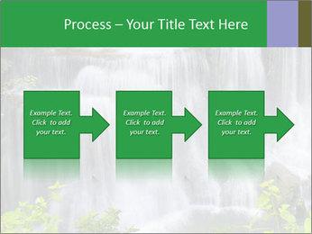 Water fall PowerPoint Template - Slide 88