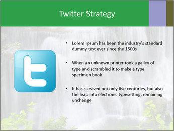 Water fall PowerPoint Template - Slide 9