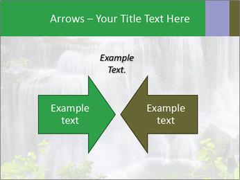 Water fall PowerPoint Template - Slide 90