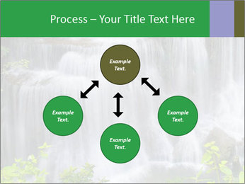 Water fall PowerPoint Template - Slide 91
