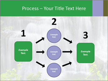 Water fall PowerPoint Template - Slide 92