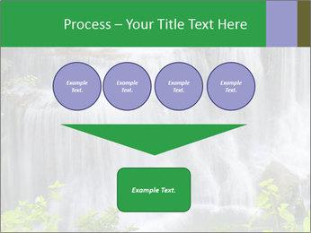 Water fall PowerPoint Template - Slide 93