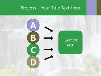 Water fall PowerPoint Template - Slide 94