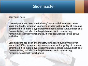Business people PowerPoint Template - Slide 2