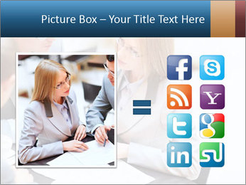 Business people PowerPoint Template - Slide 21
