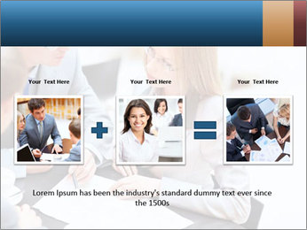 Business people PowerPoint Template - Slide 22