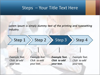 Business people PowerPoint Template - Slide 4