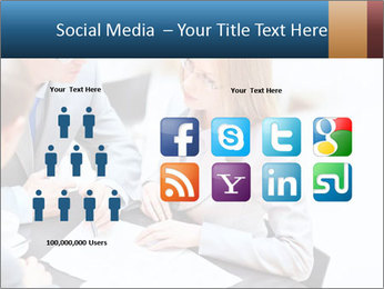 Business people PowerPoint Template - Slide 5
