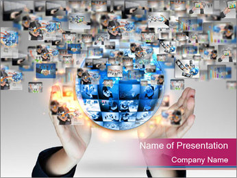 Business world Plantillas de Presentaciones PowerPoint