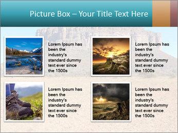 A mountain PowerPoint Template - Slide 14