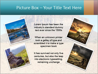 A mountain PowerPoint Template - Slide 24