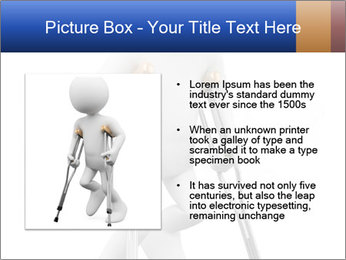 3d white person PowerPoint Template - Slide 13