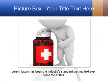 3d white person PowerPoint Template - Slide 15