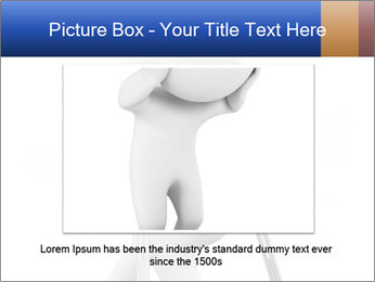 3d white person PowerPoint Template - Slide 16