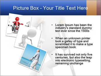 3d white person PowerPoint Template - Slide 17