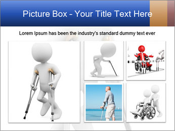3d white person PowerPoint Template - Slide 19
