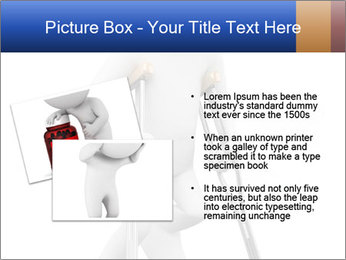 3d white person PowerPoint Template - Slide 20