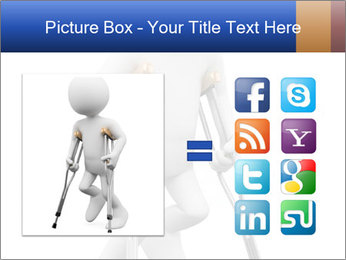 3d white person PowerPoint Template - Slide 21