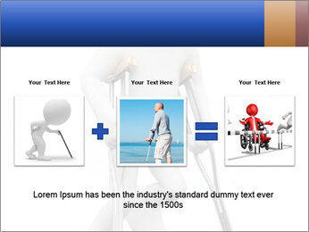 3d white person PowerPoint Template - Slide 22