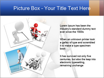 3d white person PowerPoint Template - Slide 23