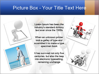 3d white person PowerPoint Template - Slide 24