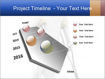 3d white person PowerPoint Template - Slide 26