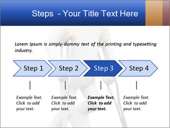 3d white person PowerPoint Template - Slide 4