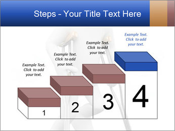 3d white person PowerPoint Template - Slide 64
