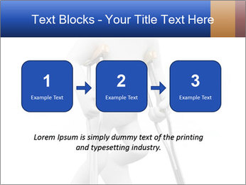3d white person PowerPoint Template - Slide 71