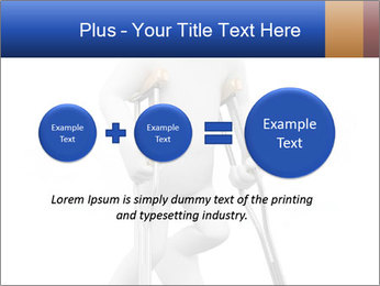 3d white person PowerPoint Template - Slide 75