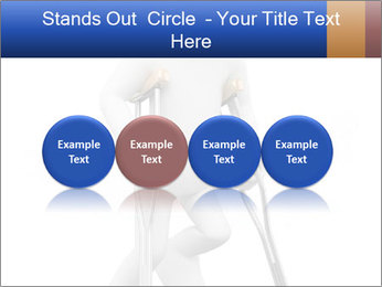 3d white person PowerPoint Template - Slide 76