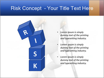 3d white person PowerPoint Template - Slide 81