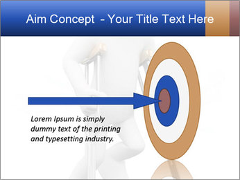 3d white person PowerPoint Template - Slide 83